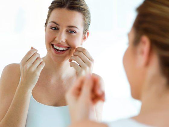 Trucos para usar la seda dental